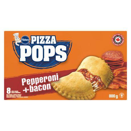 Pillsbury™ Pizza Pops™ Pepperoni And Bacon Pizza Snacks