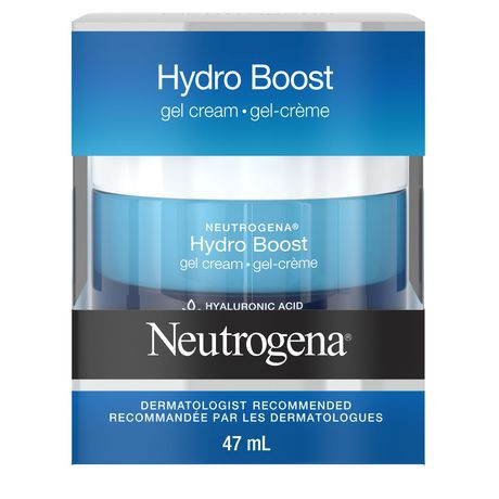 Hydro boost facial gel cream with hyaluronic acid