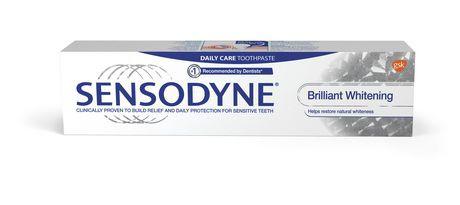 Brilliant whitening sensitivity mint toothpaste