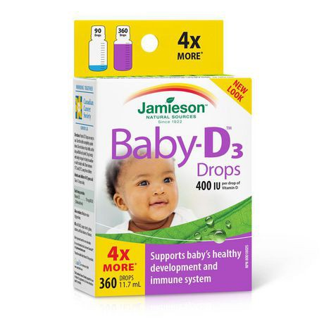 Jamieson Laboratories Jamieson Baby-D™ Vitamin D3 400 IU Droplets