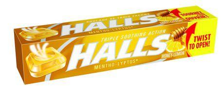 Halls Honey Lemon Cough Drops With its Advanced Vapour Action® formula