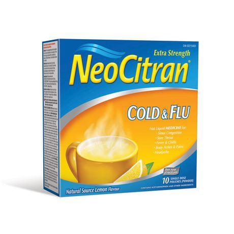 Extra Strength cold & flu