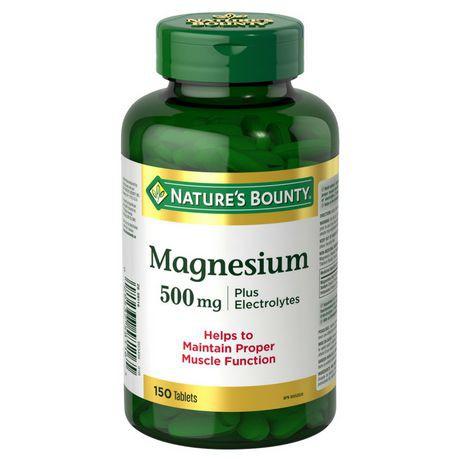 Nature's Bounty Magnesium plus Electrolytes