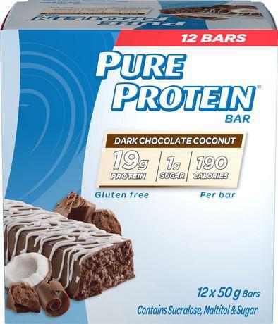 Pure Protein Dark Chocolate Coconut bar