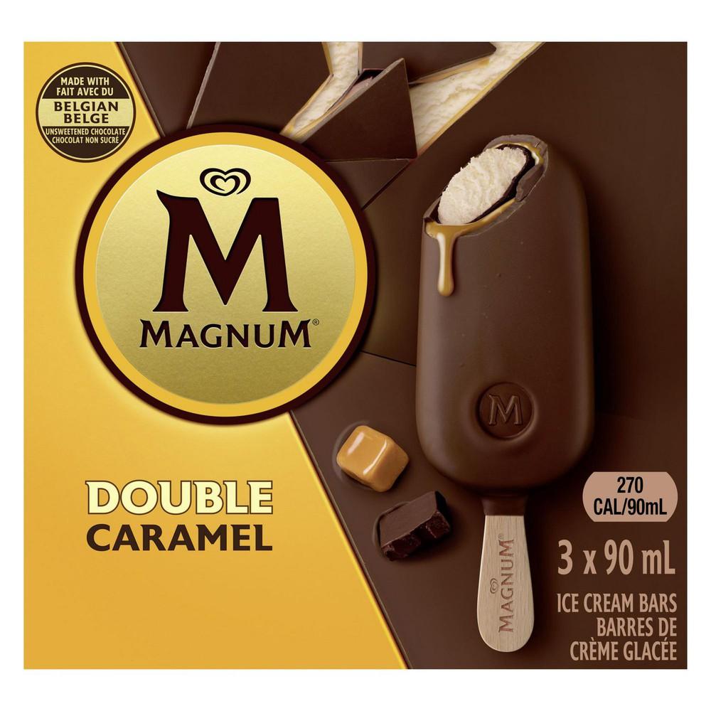 Double caramel icecreambars