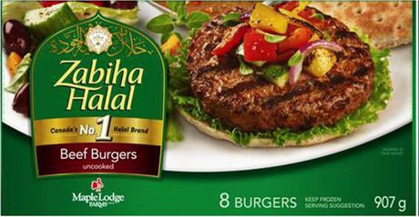 Zabiha Halal Beef Burgers · Walmart · Cornershop · Groceries