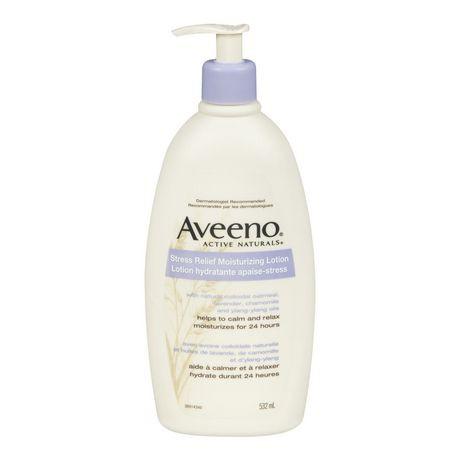 Stress relief moisturizing body lotion