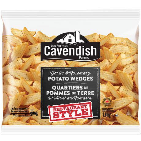 Cavendish Farms Restaurant Style Garlic And Rosemary Potato Wedges