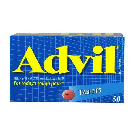 Ibuprofen tablets 200 mg 50 units