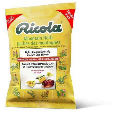Ricola Mountain Herbs Suppressant Throat Lozenges
