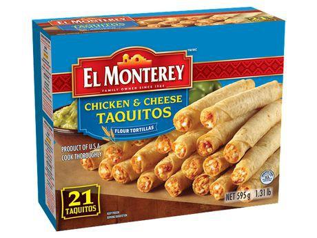 EL Monterey Chicken And Cheese Taquitos