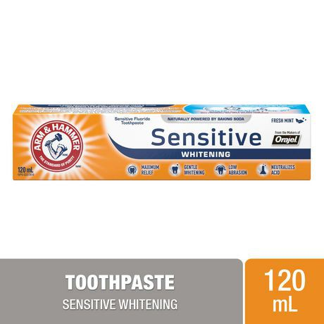 Pro Sensitive frosted mint whitening toothpaste