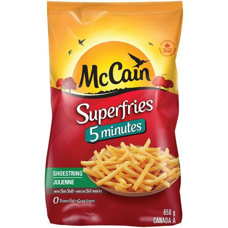 SuperQuick shoestring fries