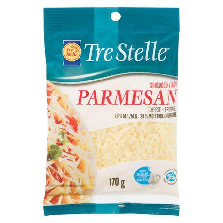 Shredded parmesan cheese