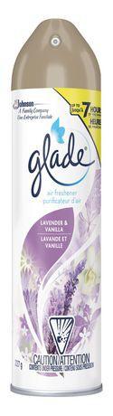 Aerosol lavender & vanilla air freshener