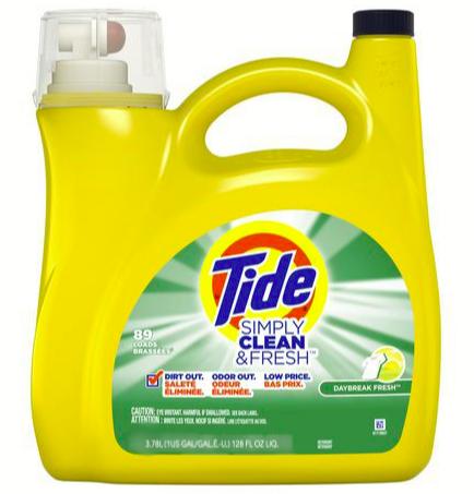 Tide Simply Clean & Fresh Daybreak High Efficiency Liquid Laundry Detergent