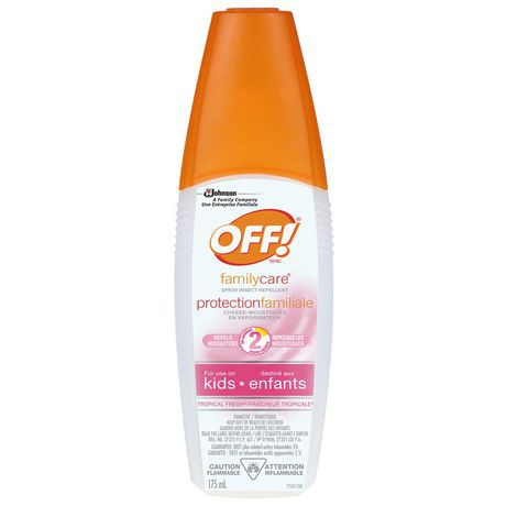 OFF!® familycare® Tropical Fresh® Spray For Use On Kids 175 mL