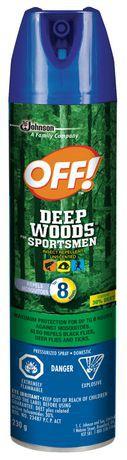 OFF!® Deep Woods® Sportsmen Aerosol 230 g