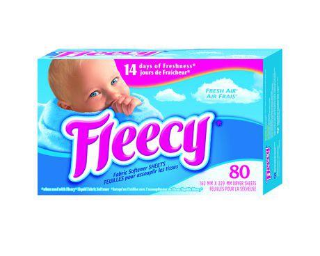Fleecy Fresh Air Fabric Softener Dryer Sheets