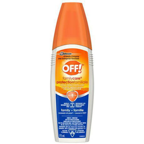 OFF! Family Care Spray Insect Repellent – Summer Splash (Sports)