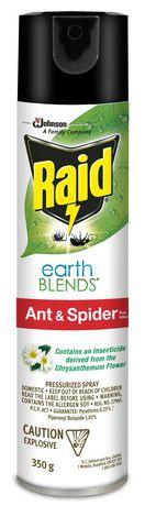 Raid EARTHBLENDS® Ant & Spider Bug Killer
