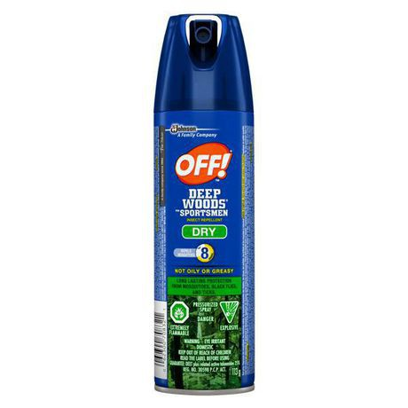 Off! off Deep Woods Dry – Sportsmen