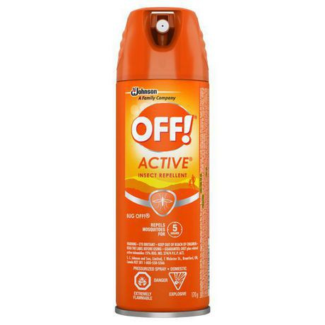 OFF! Active® Insect Repellent Aerosol — 170g