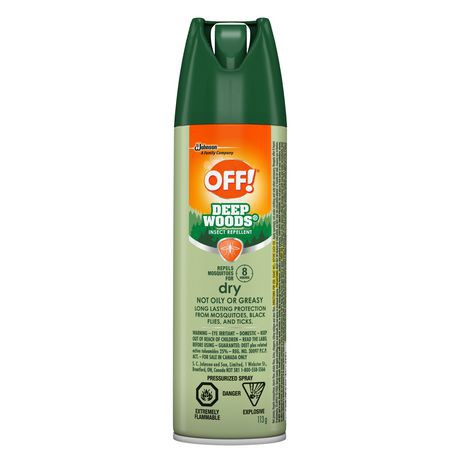 OFF!™ Deep Woods Dry