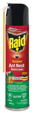 Raid® Outdoor Ant Nest Destroyer