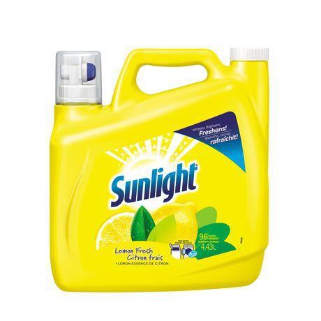 Sunlight Triple Clean Lemon Fresh Laundry Detergent