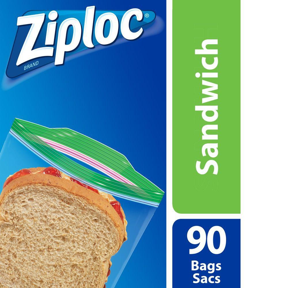 Grip'n seal sandwich bags