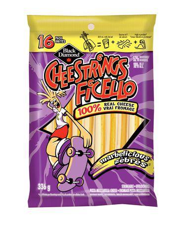 Cheestrings Ficella mozarella cheese