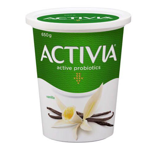 Vanilla probiotic yogurt