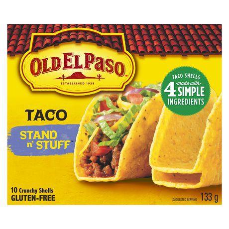 Gluten free stand n' stuff taco