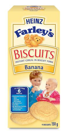 Farley's Biscuit's, Banana