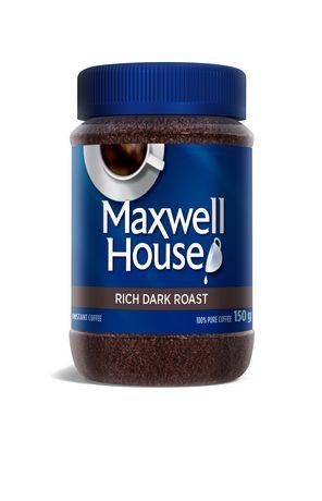 Maxwell House Rich Dark Roast Instant Coffee Walmart