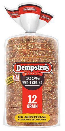 100% whole grains 12 grain bread
