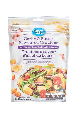 Garlic and Butter Flavoured Croutons