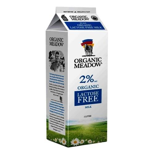 Lactose free milk 2%