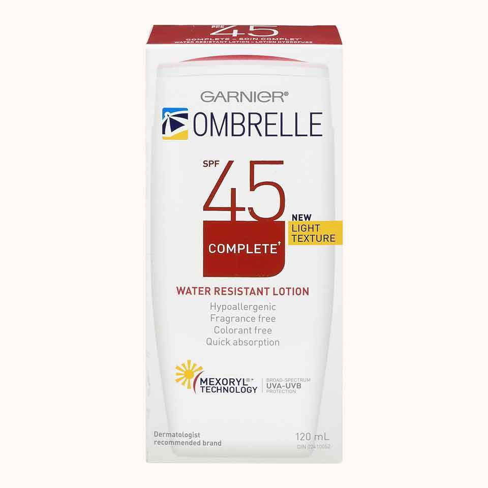 Ombrelle Lotion SPF 45 Complete Water Resistant Lotion