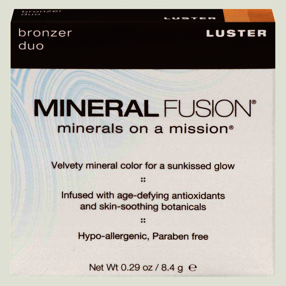 Mineral Fusion Bronzer  Duo Luster