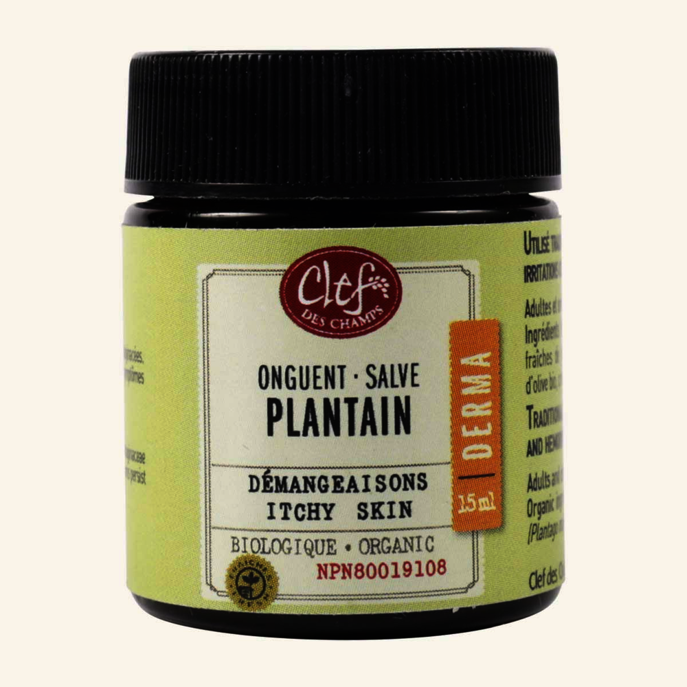Clef Des Champs Organic Plantain Itchy Skin