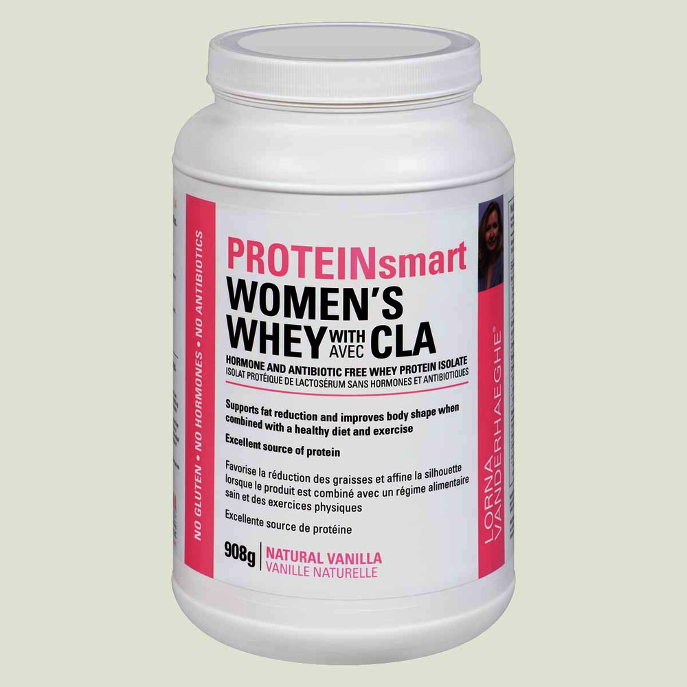Lorna Protein Smart Women's Whey with CLA Natural Vanilla