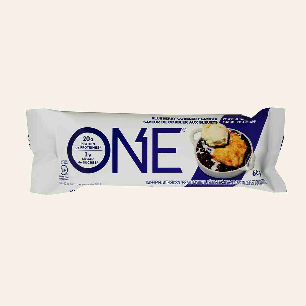 One Protein Bar Blueberry Cobbler Flavour