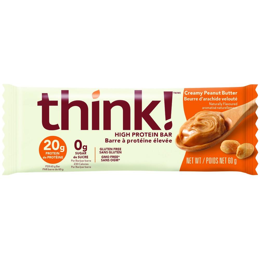 Think! High Protein Bar Creamy Peanut Butter