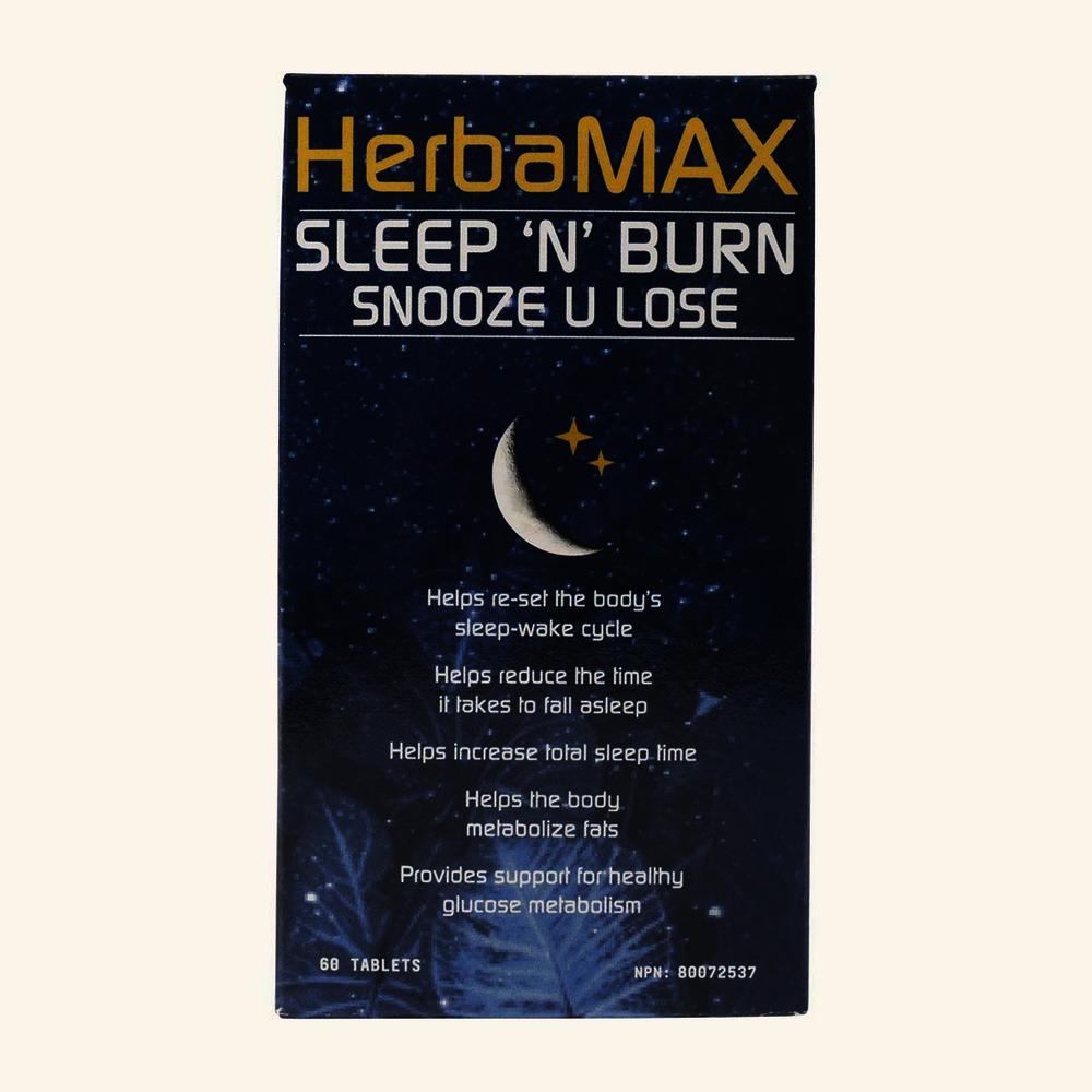 HerbaMax Sleep 'N' Burn Snooze U Lose