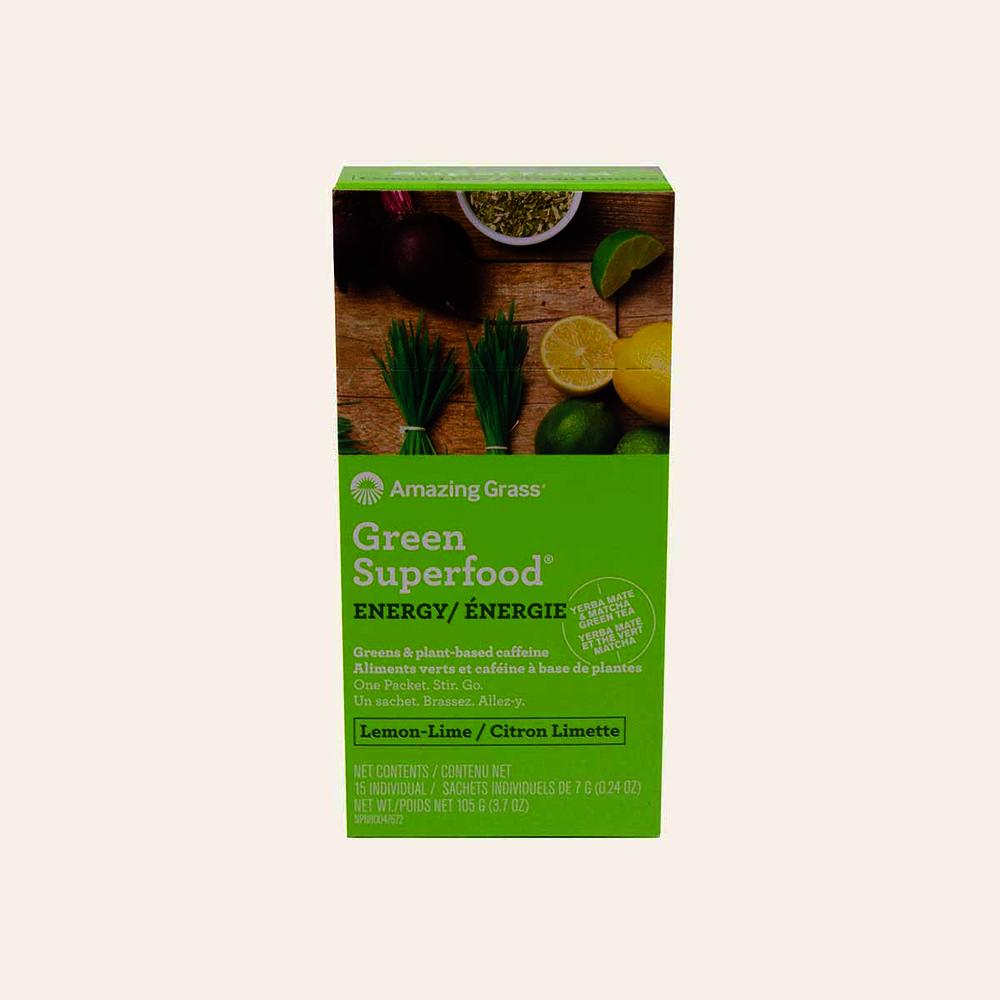 Amazing Grass Green Superfood Lemon Lime Energy