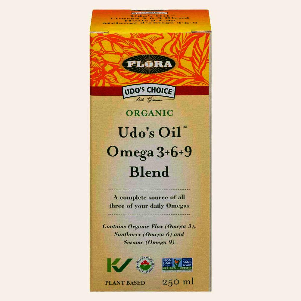 Flora Udo's Organic Oil Omega 3-6-9 Blend