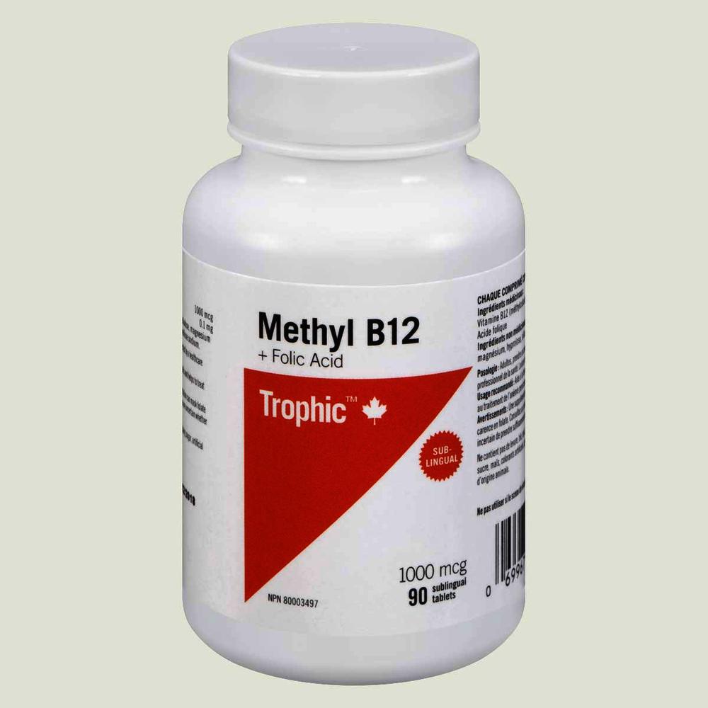 Trophic Methyl B12 plus Folic Acid