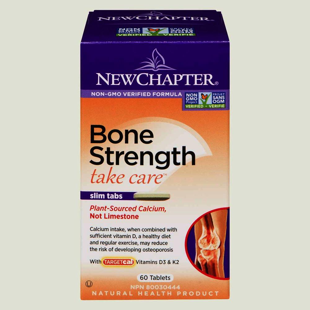 New Chapter Bone Strength Slim Tabs